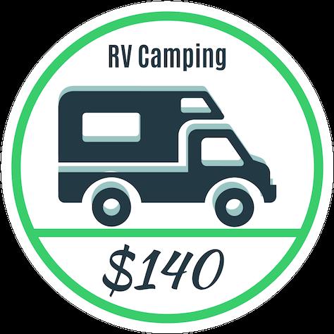 rv camping - oregon jamboree